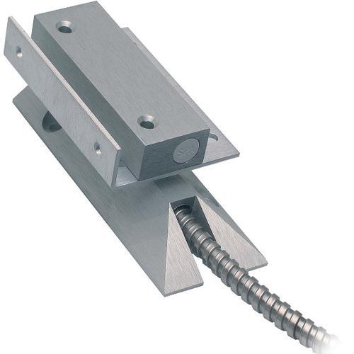 Alarmtech MC 240-S56 Kabel Magnetkontakt - N.C. - 42 mm Gap - For Door, Window - Overflademontering - Aluminum