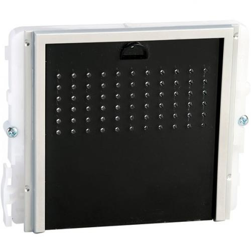 Comelit Højttaler/mikrofonmodul til Højttaler, Mikrofon - Door - Black, Blå, Hvid