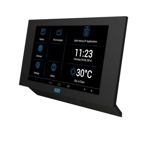 2N Indoor Touch monitor, Black