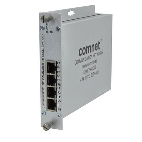 Comnet CNFE4SMSPOE 4port