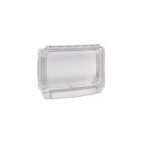 Polycarbonate Cover w Enclosed Back Box