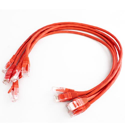 5m 8p8c Patch RJ45 Red EACH