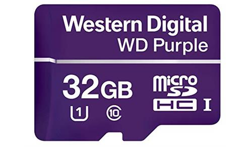 WDD032G1P0A 32GB MicSD Purple
