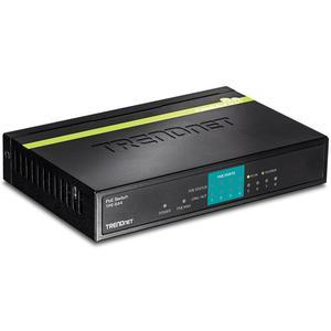 TRENDnet TPE-S44 Ethernet Switch - 2 Layer Supported - Desktop - 5 År Limited Warranty