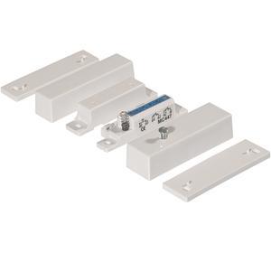 Alarmtech MC 447 Magnetkontakt - N.C. - For Door, Window - Overflademontering - Hvid, Brown