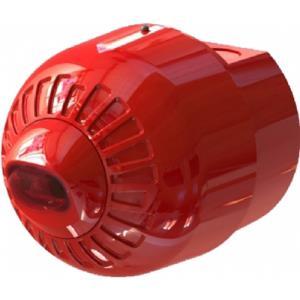 Texecom Sonos Pulse Sikkerheds stroboskoplys - Wired - 60 V DC - Hørbar, Visuelt - Væg Monterbar - Red, Red