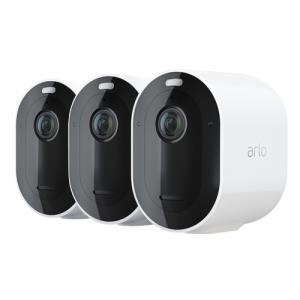 Arlo Pro 3 2K QHD Wireless White Spotlight 3 Camera Kit