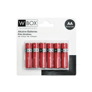 Batterier AA Alkaline 12 pack